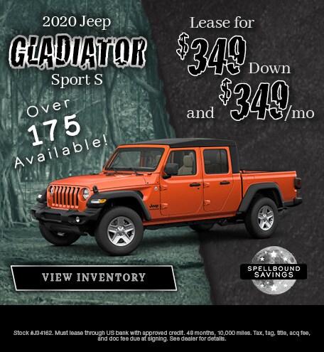 October 2019 2020 Jeep Gladiator Special