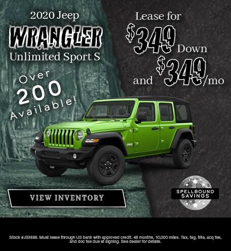 October 2019 2020 Jeep Wrangler Special