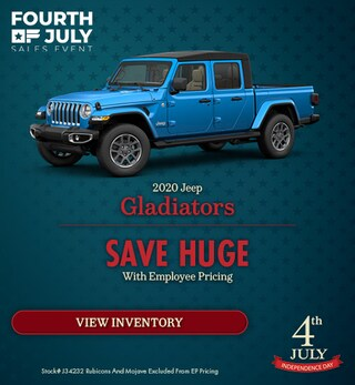 2020 Jeep Gladiators - July