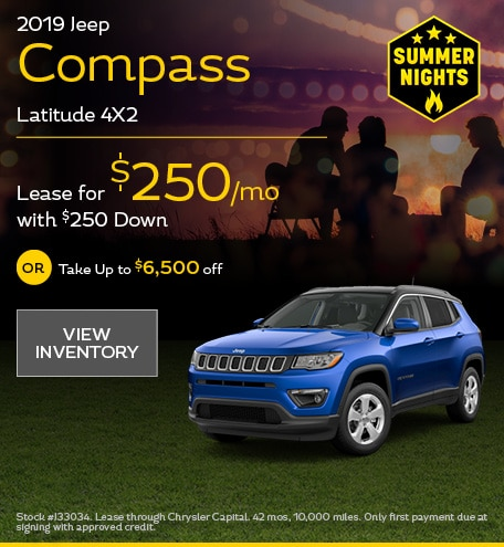 2019 Jeep Compass Latitude 4X2