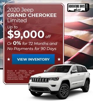 2020 Jeep Grand Cherokee - September
