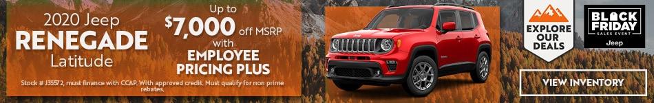 2020 Jeep Renegade - November