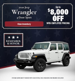 2020 Jeep Wrangler - May