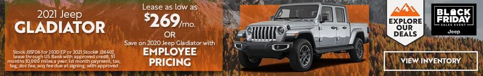 2021 Jeep Gladiator - November