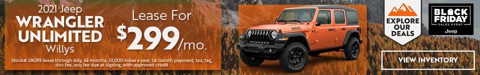 2021 Jeep Wrangler - November