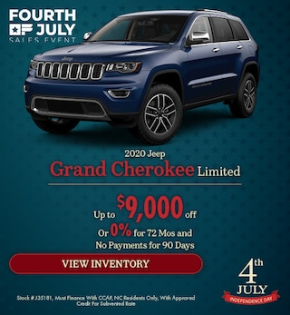 2020 Jeep Grand Cherokee Limited - July