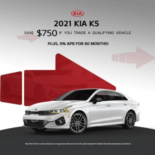 New 2021 Kia K5 Special Offer