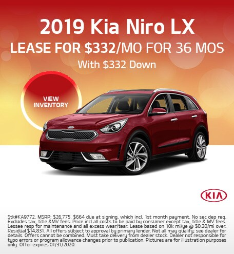 January 2019 Kia Niro LX