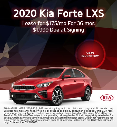 2020 Kia Forte Offer - May