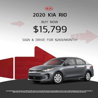 New 2020 Kia Rio Special Offer