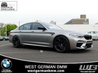 New 2019 BMW M5 Competition Sedan WBSJF0C55KB447143 19642 for sale near Philadelphia