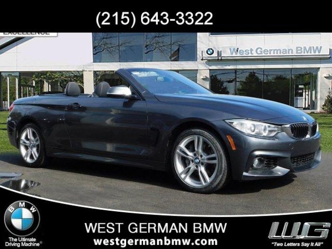 2016 BMW 435i xDrive Convertible