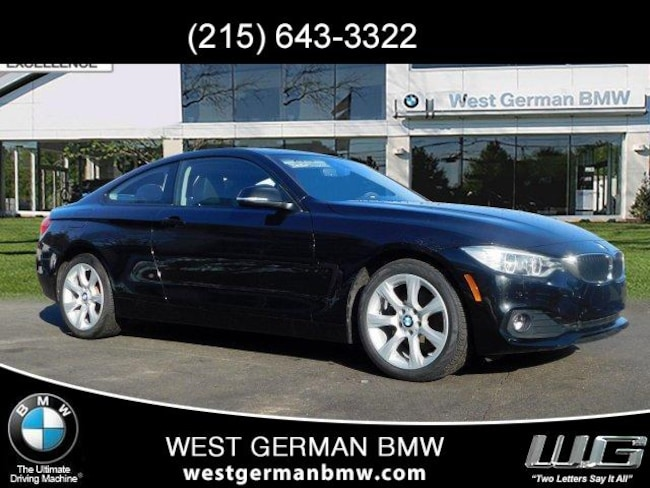 Bmw 428i Coupe >> Certified Pre Owned 2015 Bmw 428i Xdrive W Sulev Coupe For Sale