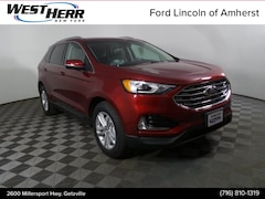 New 2019 Ford Edge SEL Crossover FAH191495 in Getzville, NY