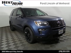 New 2019 Ford Explorer Sport SUV FAE191089 in Getzville, NY