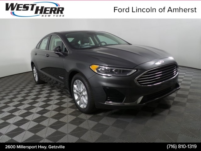New 2019 Ford Fusion SEL Sedan in Getzville NY