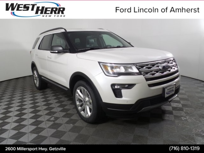 New 2019 Ford Explorer XLT SUV in Getzville NY