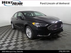 New 2019 Ford Fusion SE Sedan FAL190262 in Getzville, NY