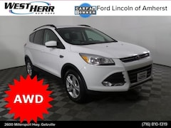 Certified Pre-Owned 2016 Ford Escape SE SUV 1FMCU9GX9GUB28986 Getzville NY