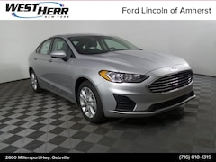New 2019 Ford Fusion SE Sedan FAL190381 in Getzville, NY