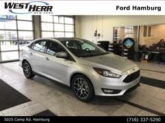 New 2018 Ford Focus SE Sedan FHP181800 in Getzville, NY