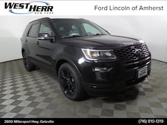 New 2019 Ford Explorer Sport SUV FAE191078 in Getzville, NY