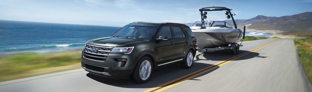 New Ford Explorer