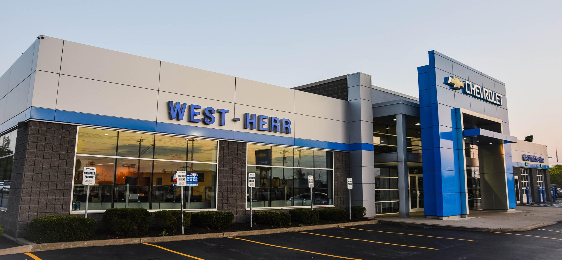 West Herr Chevrolet Hamburg, dealership exterior