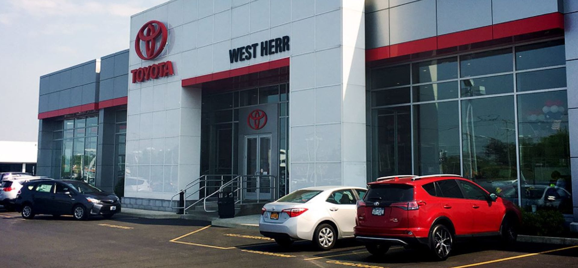 West Herr Toyota Scion of Williamsville, dealership exterior