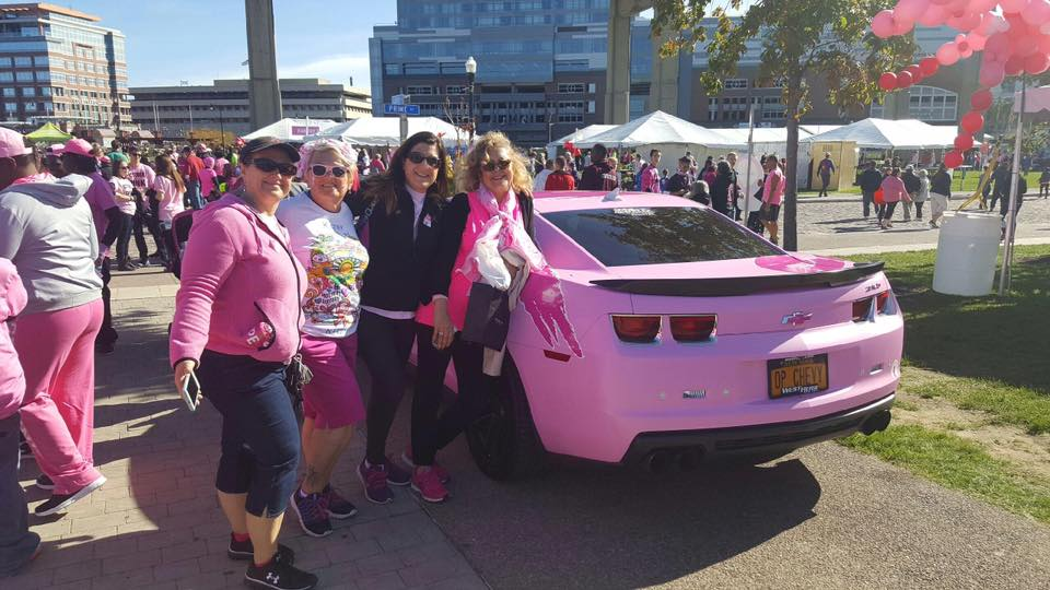 West Herr Wraps Cars in Pink in Honor of Breast Cancer ...