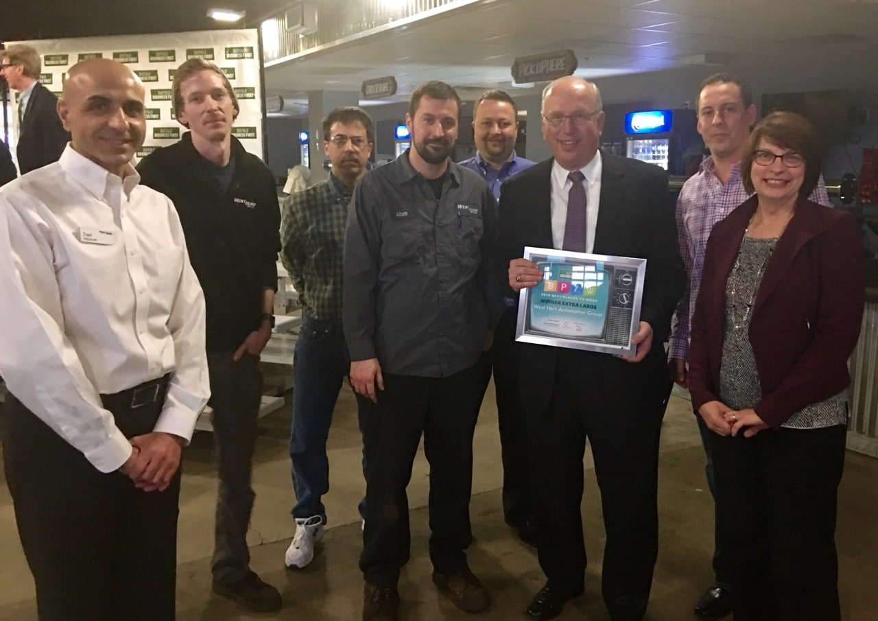West Herr Wins 2016 Best Places to Work! | West Herr Auto Group