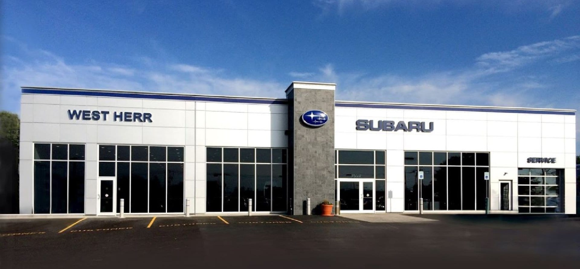 West Herr Subaru Inc., dealership exterior