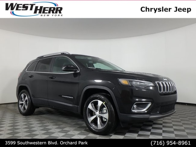 New 2019 Jeep Cherokee LIMITED 4X4 Sport Utility near Buffalo, NY
