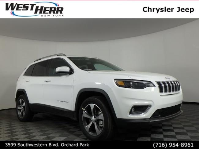 New 2019 Jeep Cherokee LIMITED 4X4 Sport Utility Buffalo NY