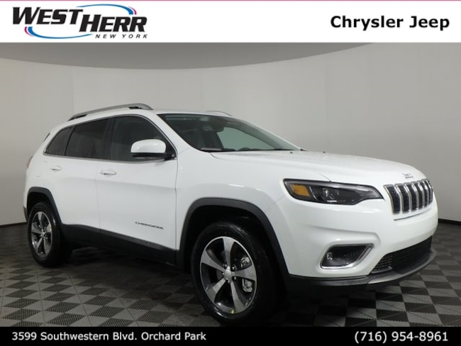 New 2019 Jeep Cherokee LIMITED 4X4 Sport Utility Buffalo NY