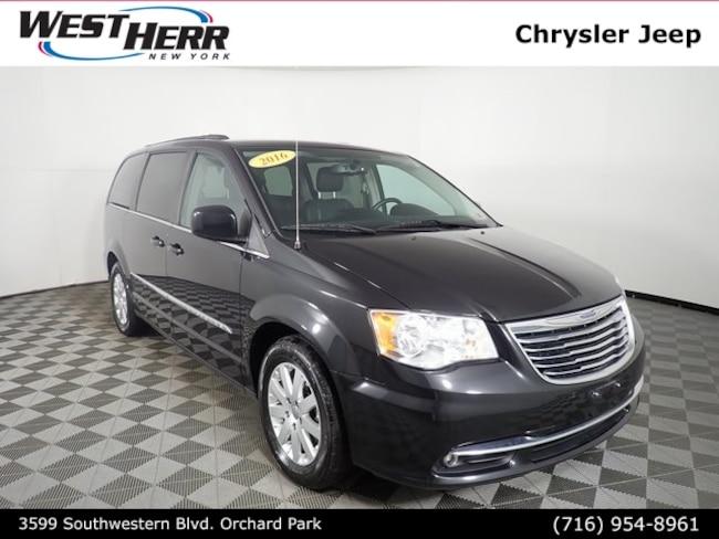 Used 2016 Chrysler Town & Country Touring Van LWB Passenger Van near Buffalo, NY