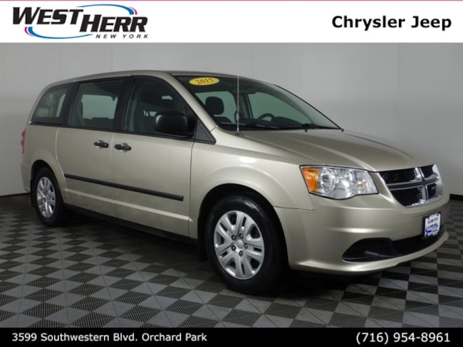 Used 2015 Dodge Grand Caravan AVP Van near Buffalo