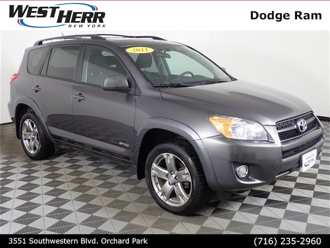 Used 2011 Toyota RAV4 Sport SUV near Buffalo