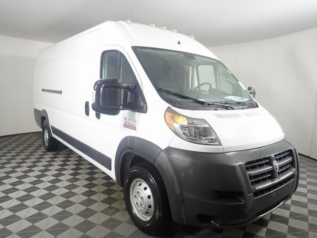 New 2018 Ram ProMaster 3500 CARGO VAN HIGH ROOF 159 WB EXT Extended Cargo Van For Sale/Lease Orchard Park, NY