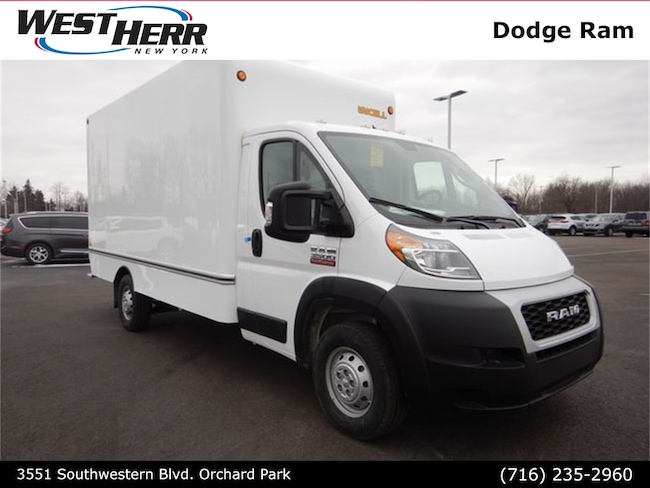 New 2019 Ram ProMaster 3500 CUTAWAY 159 WB / 104 CA Chassis For Sale/Lease Orchard Park, NY