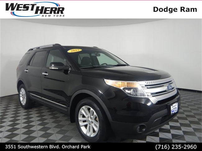 Used 2012 Ford Explorer XLT SUV near Buffalo