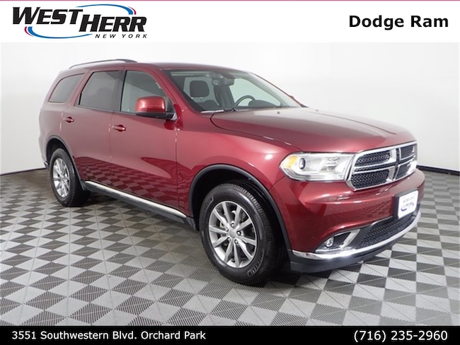 Used 2018 Dodge Durango SXT SUV near Buffalo