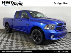 New 2019 Ram 1500 CLASSIC EXPRESS QUAD CAB 4X4 6'4 BOX Quad Cab DOT90554 near Buffalo, NY