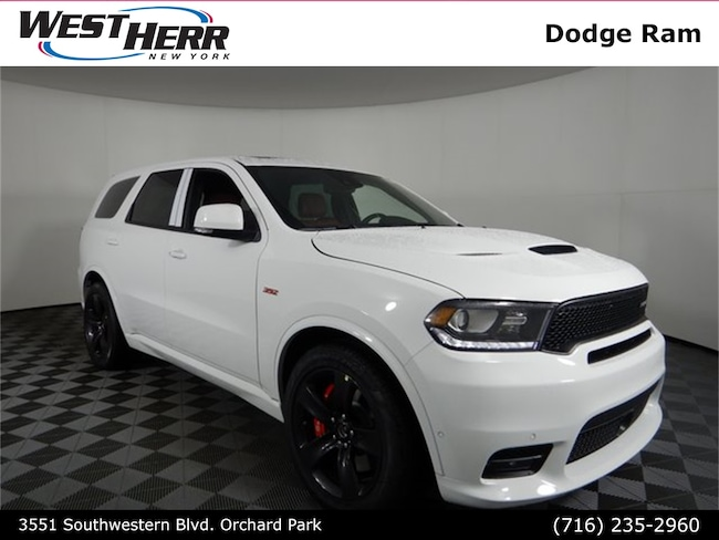 New 2018 Dodge Durango SRT AWD Sport Utility For Sale/Lease Orchard Park, NY