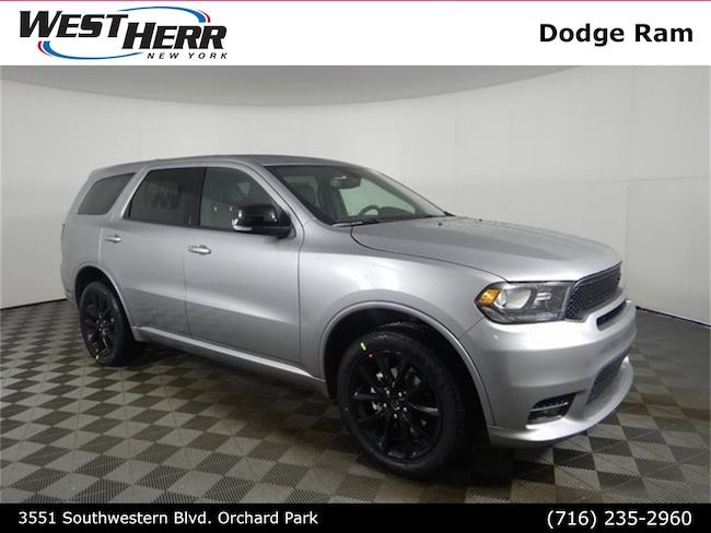 New 2019 Dodge Durango GT PLUS AWD Sport Utility For Sale/Lease Orchard Park, NY