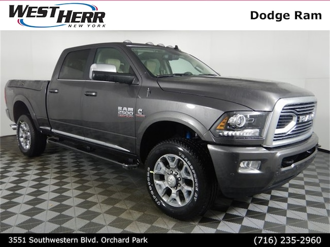 New 2018 Ram 2500 LIMITED CREW CAB 4X4 6'4 BOX Crew Cab For Sale/Lease Orchard Park, NY