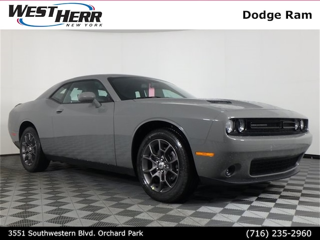 New 2018 Dodge Challenger GT ALL-WHEEL DRIVE Coupe For Sale/Lease Orchard Park, NY