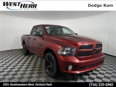 New 2019 Ram 1500 CLASSIC EXPRESS QUAD CAB 4X4 6'4 BOX Quad Cab DOT90690 near Buffalo, NY