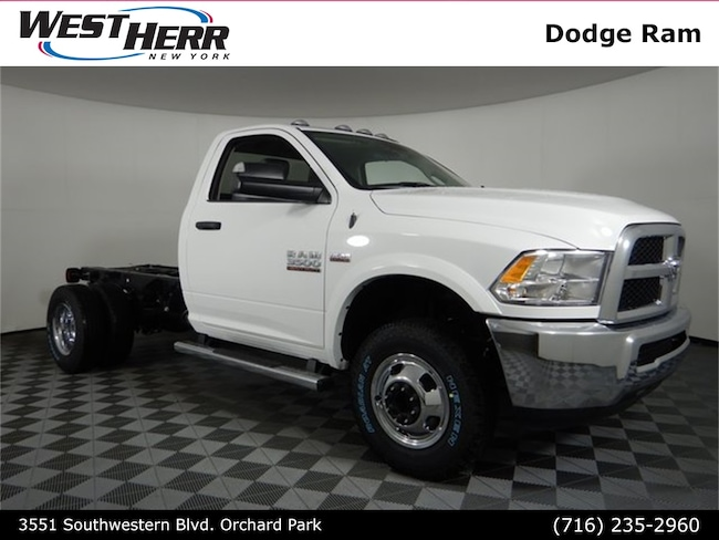 New 2018 Ram 3500 TRADESMAN CHASSIS REGULAR CAB 4X4 143.5 WB Regular Cab For Sale/Lease Orchard Park, NY
