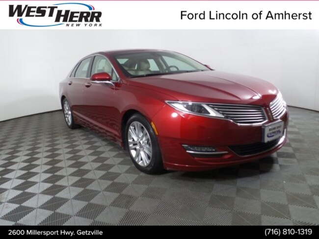 Certified Pre-Owned 2016 Lincoln MKZ Sedan Getzville NY
